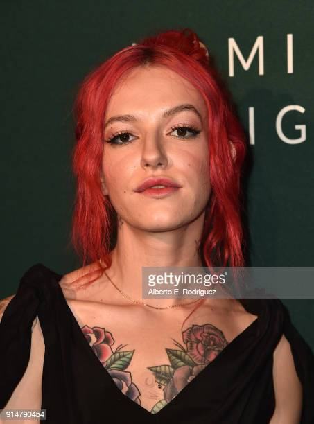 Bria Vinaite attends the Hollywood Reporter's 6th Annual Nominees Night at CUT on February 5 2018 in Beverly Hills California