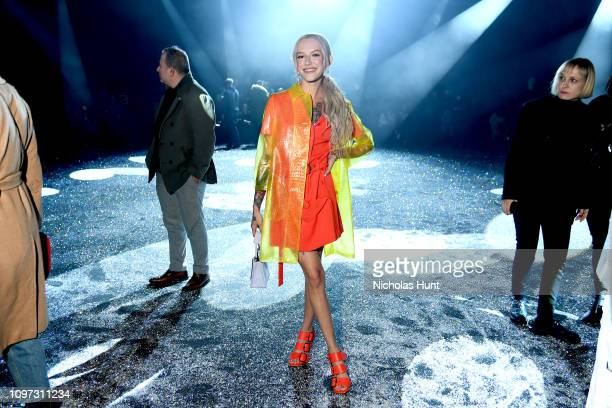Bria Vinaite attends the Sies Marjan FW'19 Runway Show at SIR Stage on February 10 2019 in New York City