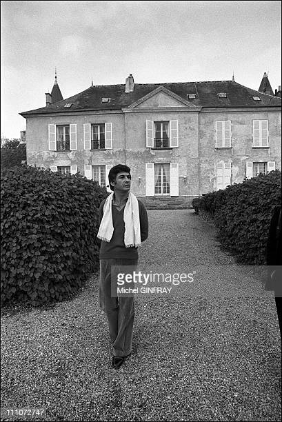 Brialy at the castle of Monthyons near Meaux in France on May 02 1974