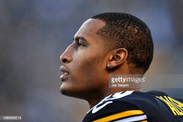Brian Allen of the Pittsburgh Steelers looks on during the game against the Cincinnati Bengals at Heinz Field on December 30 2018 in Pittsburgh...