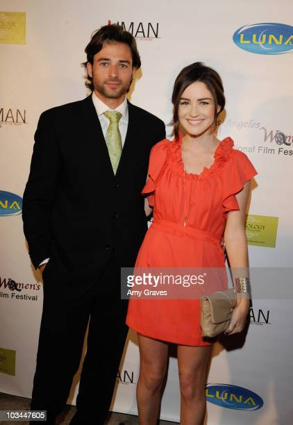 Brian Ames and Jonna Walsh attend the Los Angeles Women's International Film Festival Opening Night Gala at Libertine on March 26 2010 in Los Angeles...
