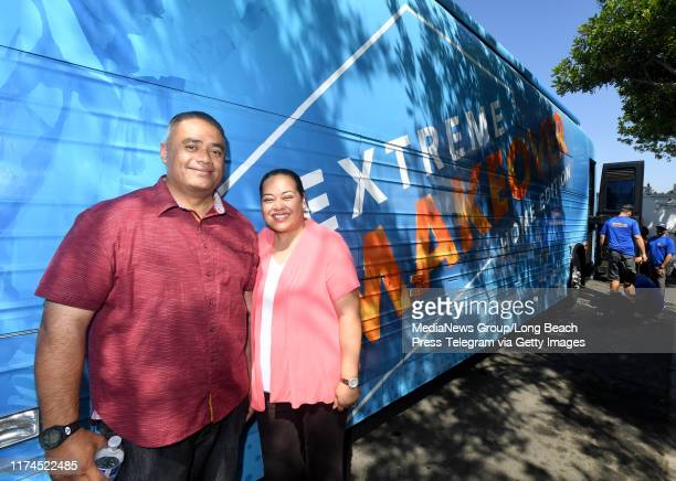 Brian and Lisa Fifita's niece Kina Makalo nominated them to be on Extreme Makeover Home Edition This morning the family was truly surprised as the...