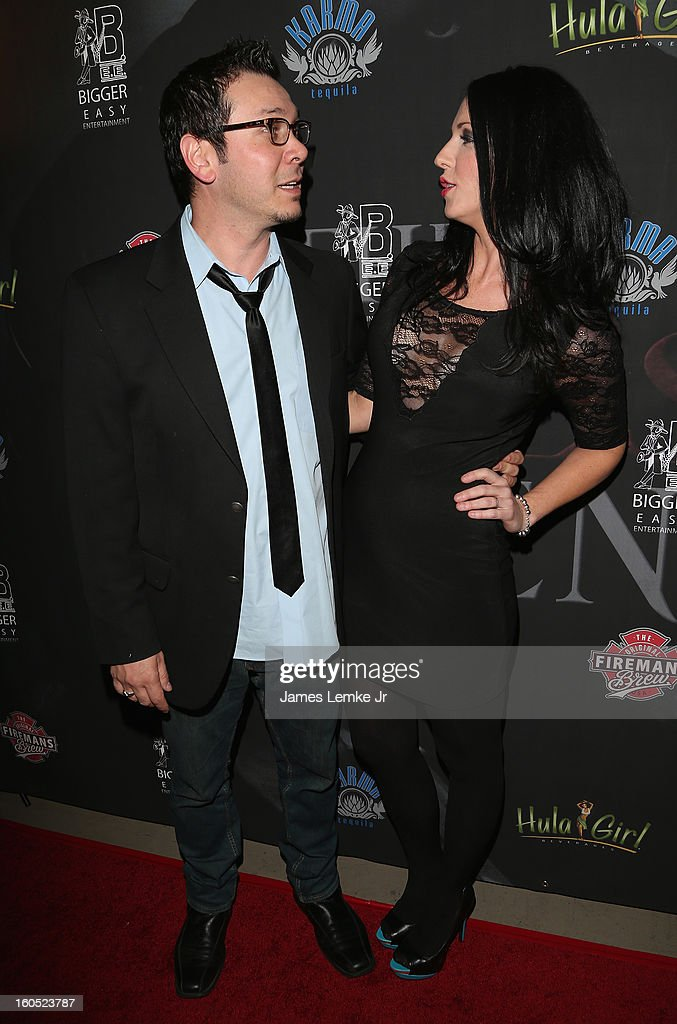 Brian and Stephanie Ronalds attends 'The Devil's Dozen' Special Screening on February 1, 2013 in Los Angeles, California.