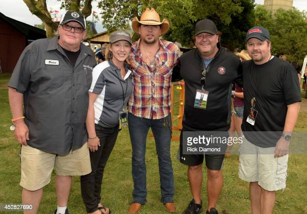 Brian Andrews Country Thunder Executive Producer April Harbour Festival Director Singer/Songwriter Jason Aldean Troy Vollhoffer Country Thunder...