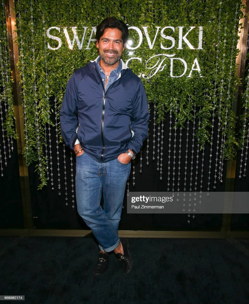 Brian Atwood attends the 2018 CFDA Fashion Awards' Swarovski Award For Emerging Talent Nominee Cocktail Party at DUMBO House on May 16, 2018 in New York City.