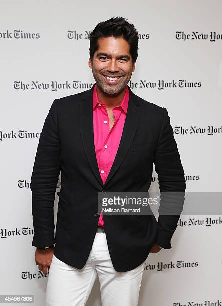 Brian Atwood attends the New York Times Vanessa Friedman and Alexandra Jacobs welcome party on September 3 2014 in New York City