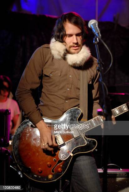 Brian Aubert of Silversun Pickups during 2007 Park City Spinner Concert with Silversun Pickups at Moviephone House in Park City Utah United States