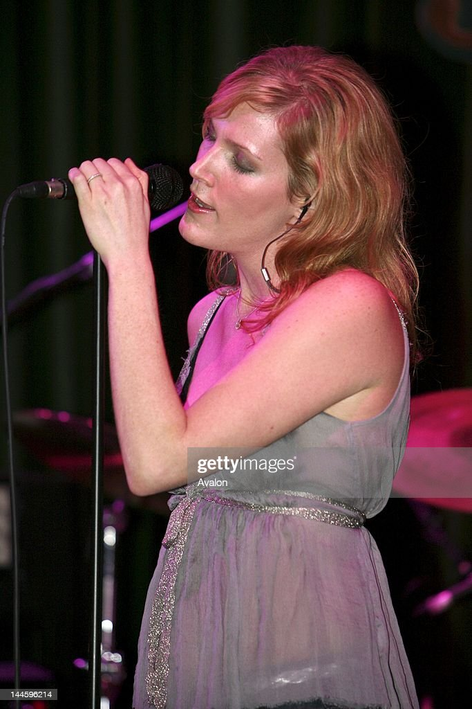 Brian Auger's daughter Savannah Auger in concert performing live at