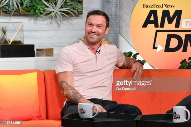 "Brian Austin Green at BuzzFeed's ""AM to DM"" on August 13, 2019 in New York City."