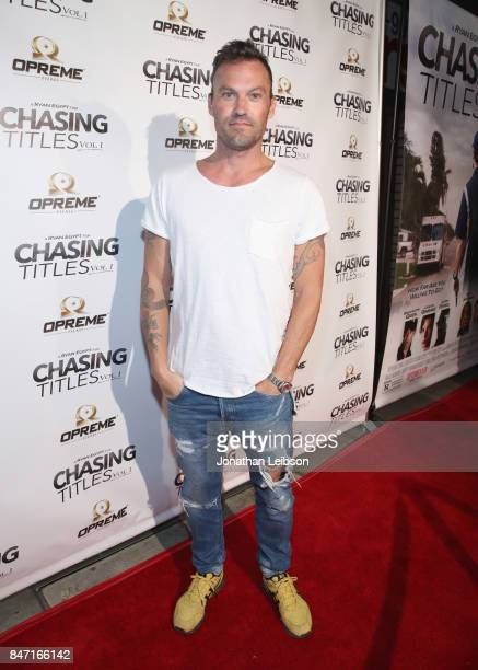 Brian Austin Green at the Chasing Titles Vol premiere on September 14 2017 in Los Angeles California