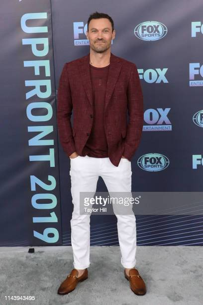 Brian Austin Green attends the 2019 Fox Upfront at Wollman Rink Central Park on May 13 2019 in New York City