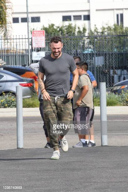 Brian Austin Green is seen on October 06, 2021 in Los Angeles, California.