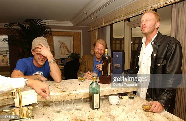 Brian Austin Green Lew Temple and Ian Ziering during Johnnie Walker Blue Label Hosts Gentlemans Suite for 2004 Billboard Music Awards at The Bellagio...