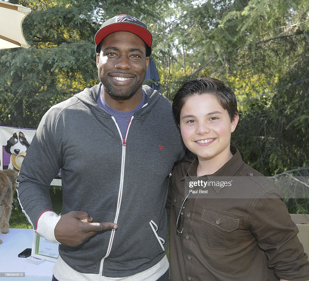 Brian Banks and Zach Callison attend 3rd Annual Rockn Rolla Movie Awards Eco Party on April 11, 2013 in Los Angeles, California.