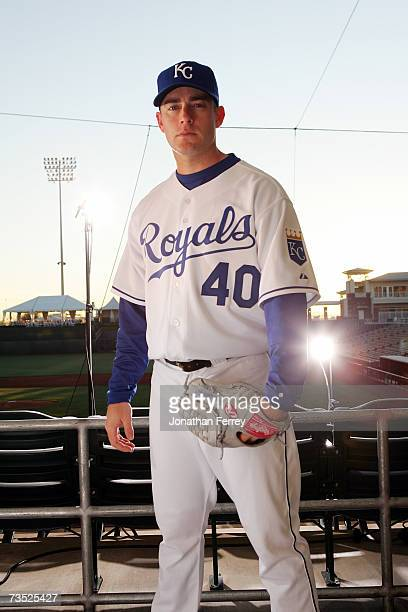 Brian Bannister of the Kansas City Royals poses for a portrait during Photo Day on February 25 2007 at Surprise Stadium in Surprise Arizona