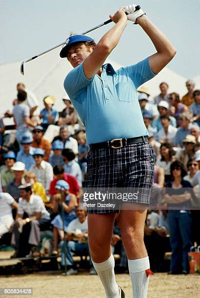 Brian Barnes of England during the 105th Open Championship played on the Royal Birkdale Golf Club on July 7 1976 in Southport England