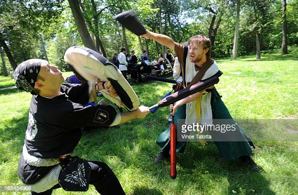 Brian Barrett who takes part in a weekly Live Action RolePlaying game in Scarborough had his LARP'ing armour and arrows confiscated by the G20 and...