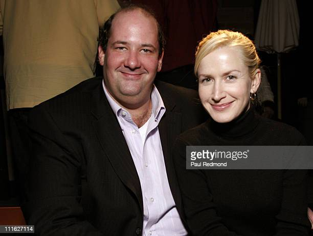 Brian Baumgartner and Angela Kinsey during J'aime Spring/Summer '07 by Jaime Pressly Presented by Joico Elle Magazine to Benefit St Jude Children's...