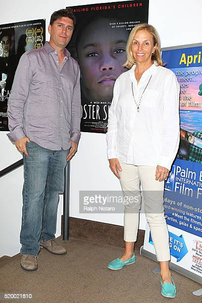 Brian Bayerl and Mari Frankel attend Palm Beach International Film Festival 2016 Filmmakers Meet And Greet on April 7 2016 in Manalapan Florida