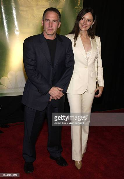 Brian Benben and wife Madeleine Stowe during NBC AllStar Winter Party at Bliss in Los Angeles California United States