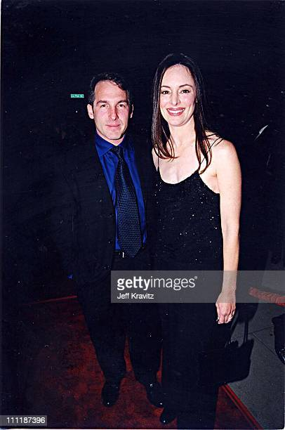 Brian Benben & Madeleine Stowe at the 1998 premiere of Playing by Heart in Los Angeles.