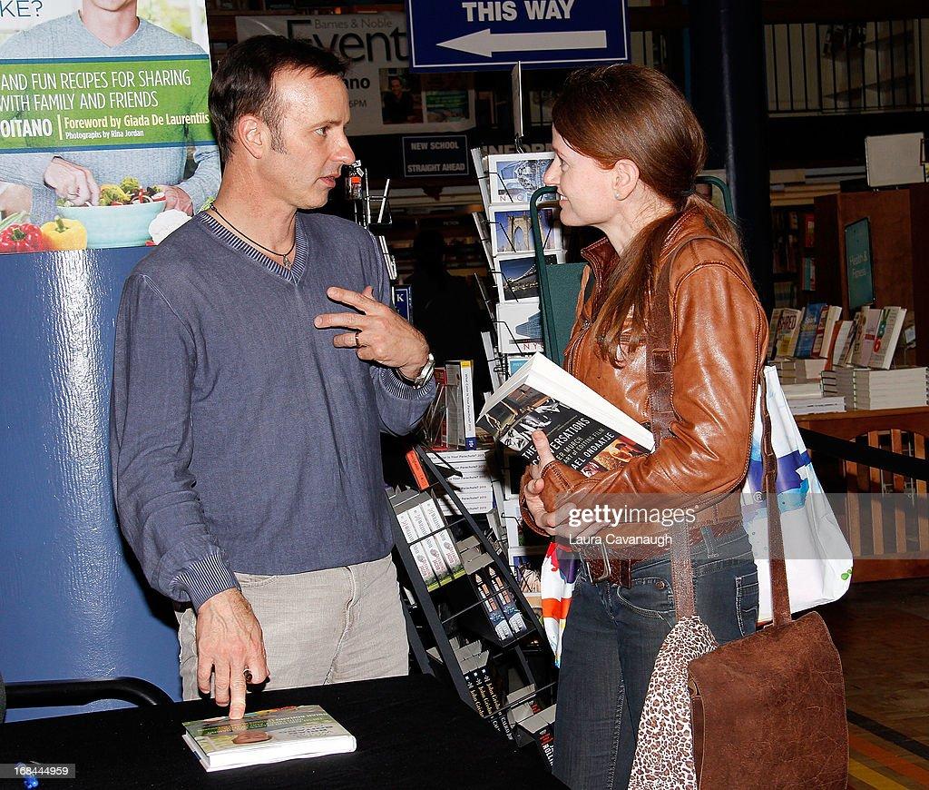 "Brian Boitano Signs Copies Of His Book ""What Would Brian Boitano Make?"" : News Photo"