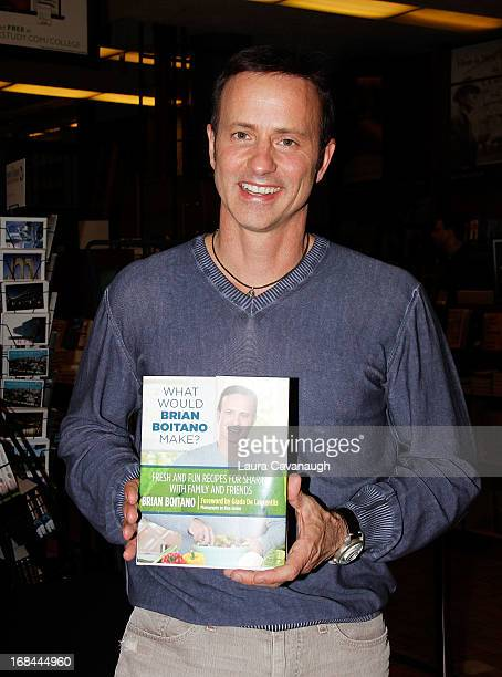 Brian Boitano promotes his new book What Would Brian Boitano Make at Barnes Noble 5th Avenue and 18th Street on May 9 2013 in New York City