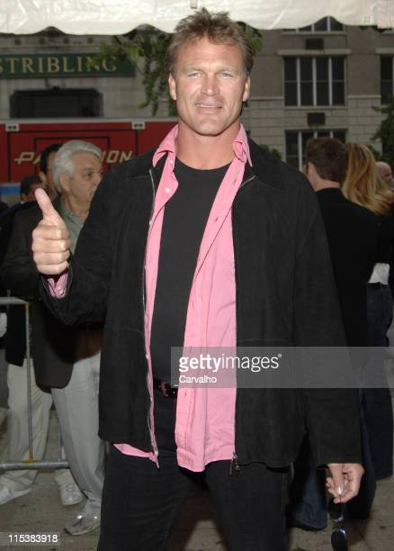 Brian Bosworth during The Longest Yard New York City Premiere at Clearview's Chelsea West Cinema in New York City New York United States