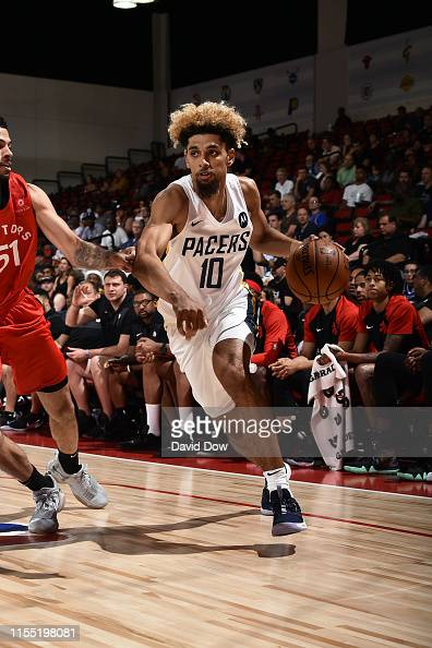 buy popular 6a5f8 6e033 Brian Bowen II of the Indiana Pacers drives to the basket ...