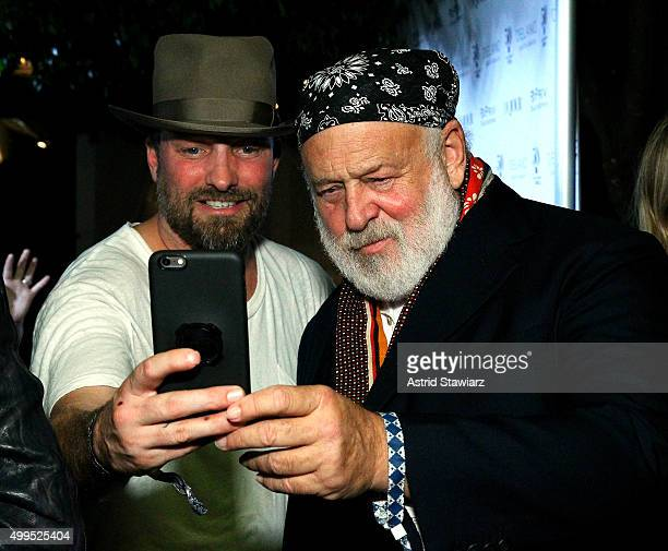 Brian Bowen Smith and Bruce Weber attend DuJour Magazine's Jason Binn Celebrates Annual Art Basel Miami Beach KickOff Party presented by Blackberry...
