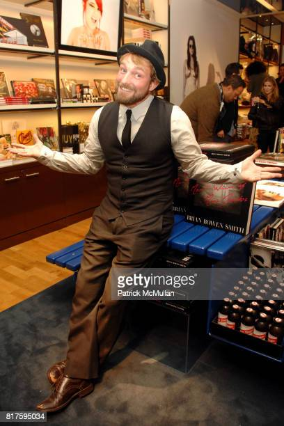 Brian Bowen Smith attends Bookmarc Celebrates Brian Bowen Smith and the Men and Women of Los Angeles at Bookmarc Store on December 15 2010 in Los...
