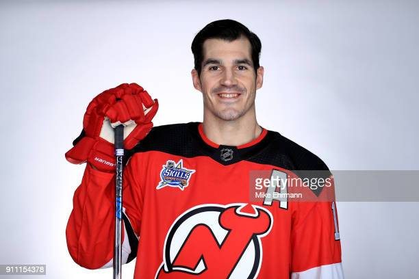 Brian Boyle #11 of the New Jersey Devils poses for a portrait during the 2018 NHL AllStar at Amalie Arena on January 27 2018 in Tampa Florida