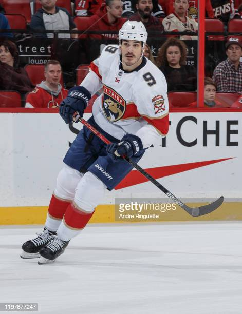 Brian Boyle of the Florida Panthers skates against the Ottawa Senators at Canadian Tire Centre on January 2 2020 in Ottawa Ontario Canada