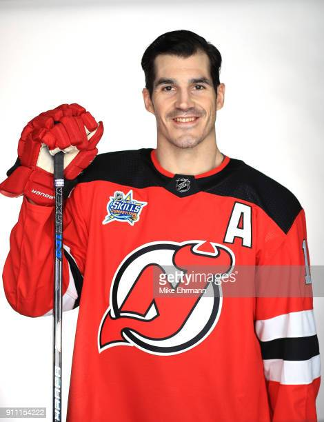 Brian Boyle of the New Jersey Devils poses for a portrait during the 2018 NHL AllStar at Amalie Arena on January 27 2018 in Tampa Florida