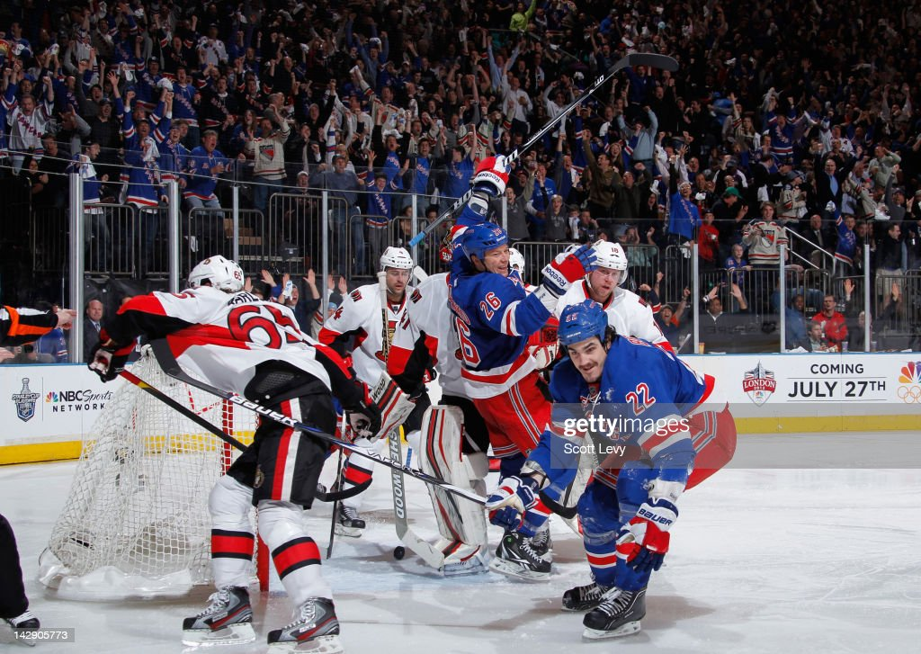 Ottawa Senators v New York Rangers - Game Two