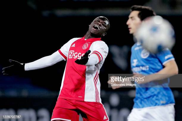 Brian Brobbey of Ajax U23 during the Dutch Keuken Kampioen Divisie match between FC Den Bosch v Ajax U23 at the Stadium De Vliert on November 20,...