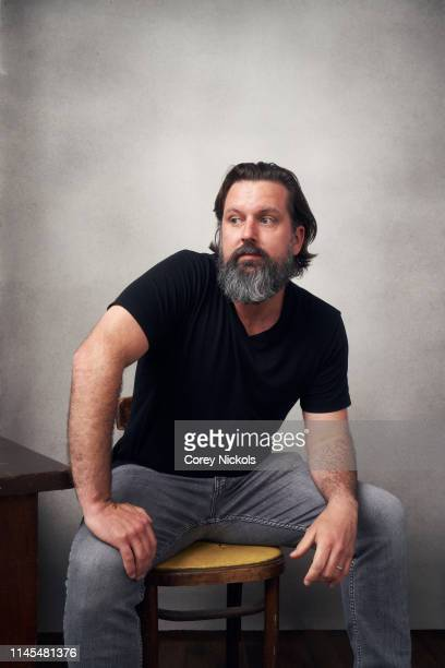 Brian C Miller Richard of the film 'Lost Bayou' poses for a portrait during the 2019 Tribeca Film Festival at Spring Studio on April 25 2019 in New...
