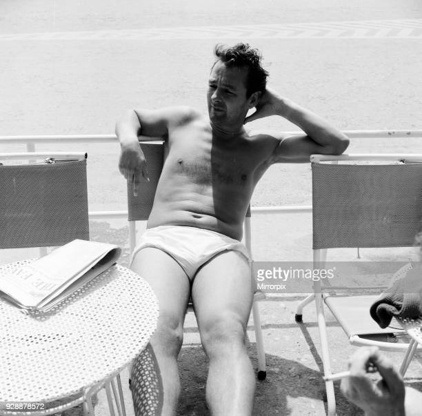 Brian Clough former Brighton Hove Albion manager and soon to be Leeds United manager pictured on holiday in Puerto Pollensa aka Port de Pollenca...