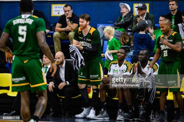 Brian Conklin of Limoges during the Pro A match between Levallois and Limoges on October 7 2017 in LevalloisPerret France
