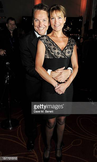 Brian Conley and Anne-Marie Conley attend an after party celebrating the press night performance of 'The Bodyguard' at on December 5, 2012 in London,...