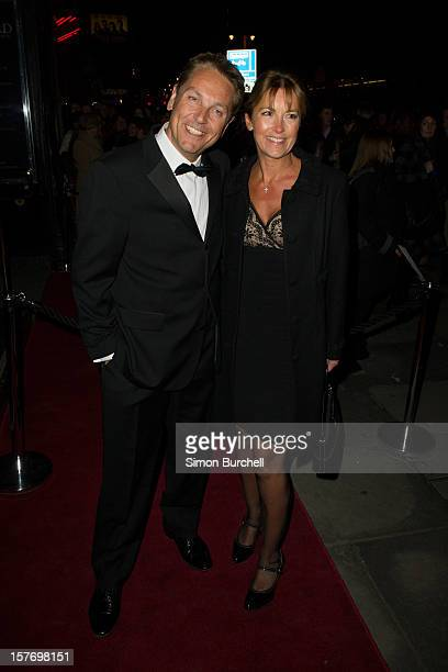 Brian Conley and Anne-Marie Conley attend the press night of The Bodyguard at Adelphi Theatre on December 5, 2012 in London, England.