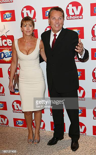 Brian Conley and Anne-Marie Conley attend the TV Choice Awards 2013 at The Dorchester on September 9, 2013 in London, England.