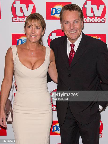 Brian Conley and Anne-Marie Conley attends the TV Choice Awards 2013 at The Dorchester on September 9, 2013 in London, England.