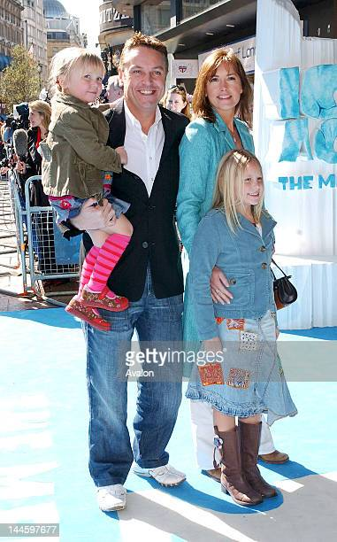 Brian Conley and family attending Ice Age 2 The Meltdown Premiere Empire Leicester Square London April 3 2006 Job 11473