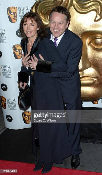 Brian Conley and guest arrive for the British Academy Children's Film Television Awards 2006 at the Hilton Park Lane on November 26 2006 in London...