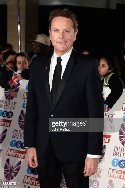 Brian Conley attends the Pride Of Britain Awards at Grosvenor House on October 30 2017 in London England