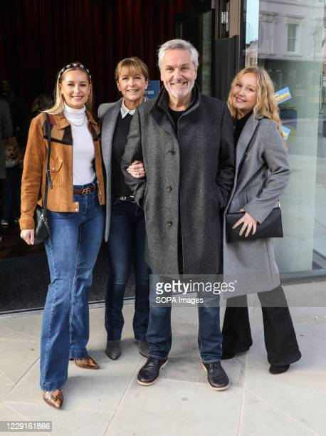 Brian Conley, Lucy Conley, Amy Conley and Anne-Marie Conley attend the VIP Screening of Two By Two Overboard! at Everyman Chelsea in London.