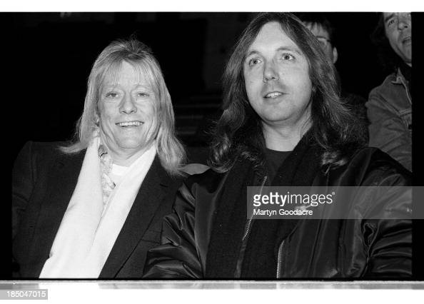 Brian Connolly Of Sweet In The Audeince At Brixton Academy London Nachrichtenfoto Getty Images