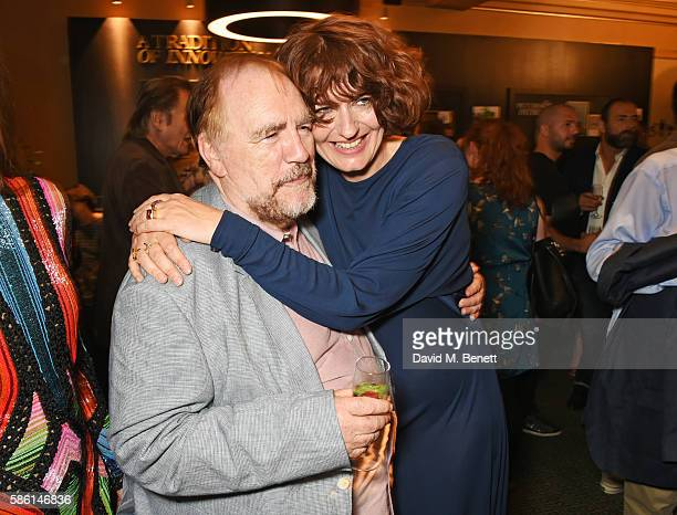 Brian Cox and Anna Chancellor attend the UK Premiere of The Carer at the Regent Street Cinema on August 5 2016 in London England