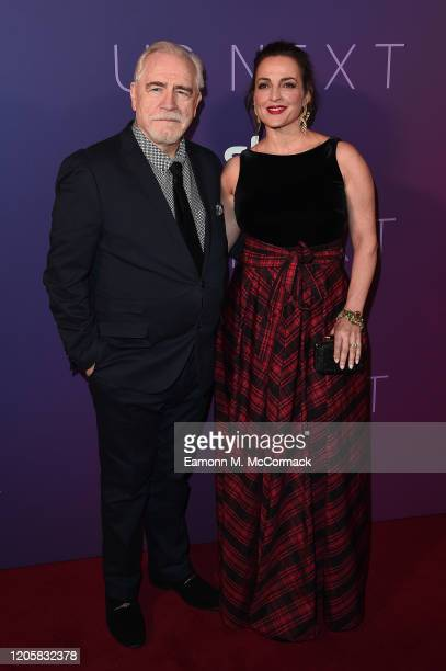 Brian Cox and guest attends the Sky Up Next 2020 at Tate Modern on February 12 2020 in London England